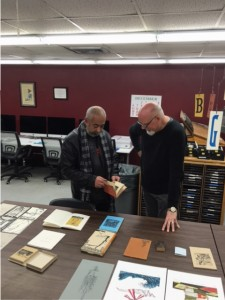 Renowned Cuban novelist, Leonardo Padura, with Professor Steve Miller from The University of Alabama and its Cuba Center for Collaboration and Scholarship.