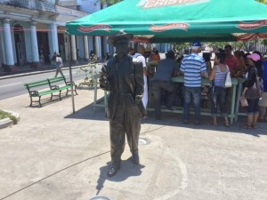 Statue of Benny Moré, Cuba's jazz legend