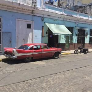 Quiet street in Cienfuegos