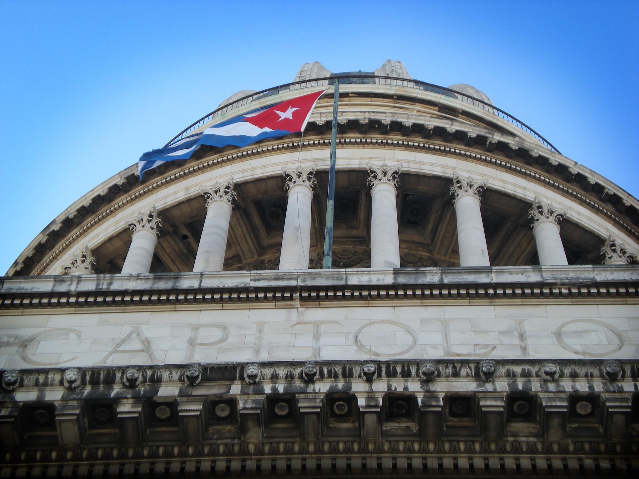 capitol building in Cuba