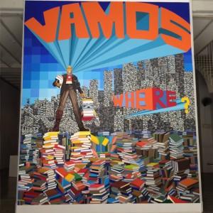 Entry to a Havana art exhibition