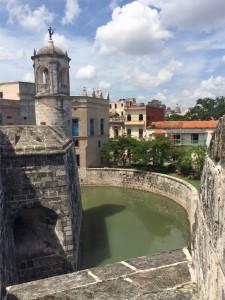 View of Havana from atop the Castillo de la Real Fuerza