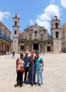Group visits a Cathedral
